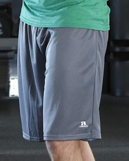 """Russell Athletic - 9"""" Polyester Tricot Mesh Pocketed Shorts"""