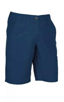 UNDER ARMOUR GOLF MATCH PLAY VENTED CHAMBRAY SHORTS Academy
