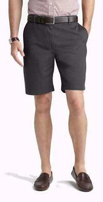 DOCKERS Perfect Fit Flat Front Smart Phone Pocket Shorts   N