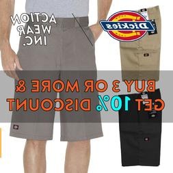 "DICKIES 42283 MENS 13"" WORK SHORTS LOOSE FIT CELL PHONE POCK"