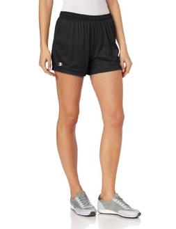 Champion Women's Mesh Shorts - Medium, Black