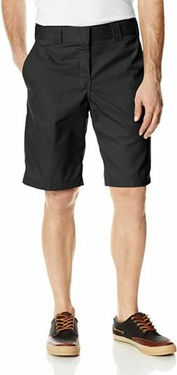 Dickies Men's 11 Inch Relaxed Fit Stretch Twill Work Short,